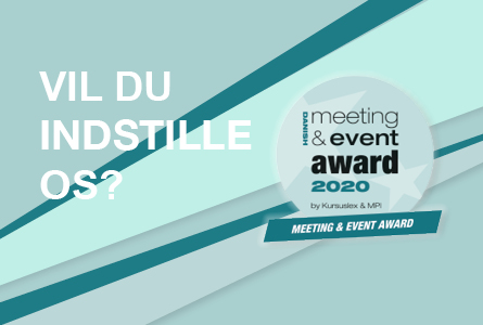Indstil os til Meeting & Event Award 2020